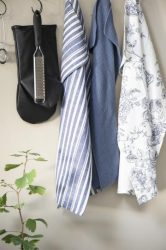 """Vintage """"MYNTE"""" Kék Búzavirág Konyhai Textil - 60*40 cm."""