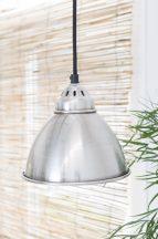 Antik Ezüst Vintage Mennyezeti Lámpa - 18 cm.