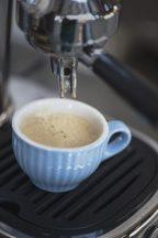 """MYNTE """"Északi Kék""""  Espresso Kávés csésze Csészealjjal - 6 db."""