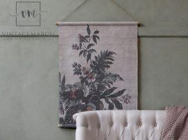 """Vintage """"Marseille floral"""" Akasztható Fali Kép - 97 cm."""