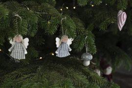 """""""My Nostalgic Christmas"""" Akasztható 6 Darabos Angyalka"""