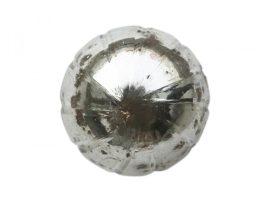 Vintage Ezüst Kézzel Készített Fiókgomb - 3 cm.
