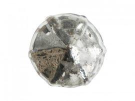 """Antik Ezüst """"Rózsabimbó"""" Kézzel Készített Fiókgomb - 3 cm."""