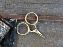Antik Réz Olló - 10 cm.