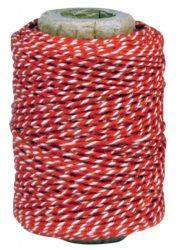 Vintage Piros/Fehér Orsó - 50 méter