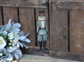 """Vintage Zöld """"Jumping Jack"""" Katona - 19 cm."""