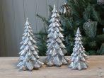 """Antik Ezüst """"Toulon"""" Karácsonyfa - 20 cm."""