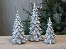 """Antik Ezüst """"Toulon"""" Karácsonyfa - 25 cm."""