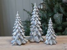 """Antik Ezüst """"Toulon"""" Karácsonyfa - 30,5 cm."""