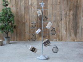"""Antik Cink """"Csillag"""" Karácsonyfa Állvány - 90 cm."""