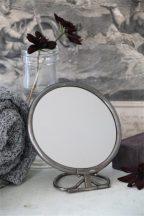 Vintage Patinált Ezüst Asztali Tükör