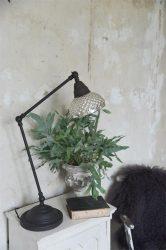 Vintage Asztali Mercury Üveg Lámpa