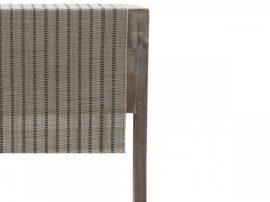 Vintage Natúr Csíkos Bambusz Asztali Futó