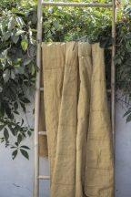 Vintage Mustársárga Ágytakaró - 130*180 cm.