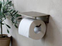 Antik Réz Toalettpapír Tartó - 17 cm.