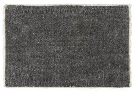 Vintage Fekete Pamut Tányéralátét - 50 cm.