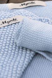 """Vintage """"MYNTE""""  Északi Kék Konyhai Textil - 25*25 cm."""