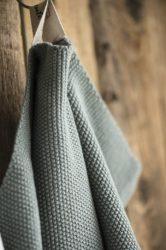 """Vintage """"MYNTE"""" Mohazöld Konyhai Textil - 60*40 cm."""