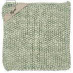 "Vintage Világos Zöld ""Mynte"" Melange Konyhai Textil"