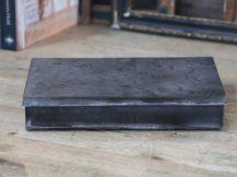 Antik Mokka Doboz Francia Mintával - 30 cm.