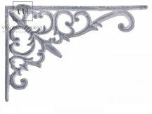 "Vintage Szürke ""French"" Polckonzol - 18 cm."