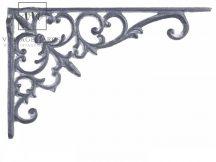 "Antik Szürke ""French"" Polckonzol - 23,5 cm."