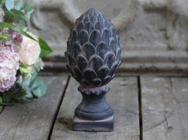 Antik Szén Francia Kerti Dísz - Fagyálló - 20 cm.
