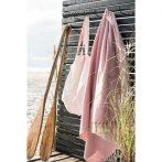Vintage Krém/Pink Pléd 160*130 cm.