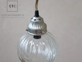 """Vintage """"Gömb"""" Mennyezeti Lámpa - 21 cm."""