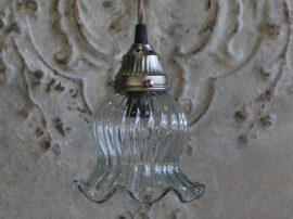 Vintage Tulipán Mennyezeti Lámpa - 20 cm.