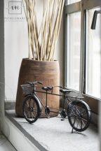 Vintage Fén Tandem Bicikli - 36,5 cm.
