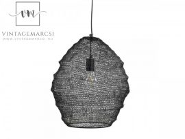 "Antik Mokka Francia ""Fil de fer"" Mennyezeti Lámpa - 40 cm."