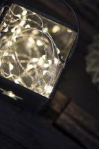 Vintage 40 LEDes Belltéri/Kültéri Fényfüzér  - 4 méter