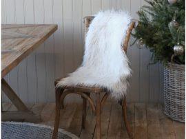 Vintage Fehér Szőrme - 90*60 cm.